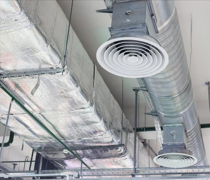commercial metal ductwork for HVAC
